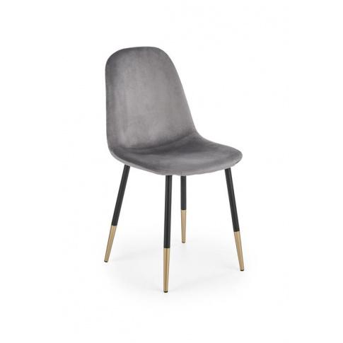 Stylowe krzesło HUBIS  POPIEL w sklepie Dedekor.pl