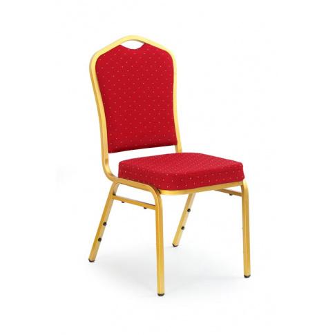 Krzesło K66s  czerwone w sklepie Dedekor.pl