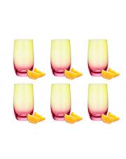 Komplet 6 szklanek wysokich na lato 1