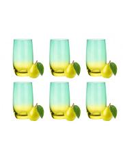 Komplet 6 szklanek wysokich na lato 3