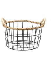 Metalowy koszyk do przechowywania 30 cm w sklepie Dedekor.pl