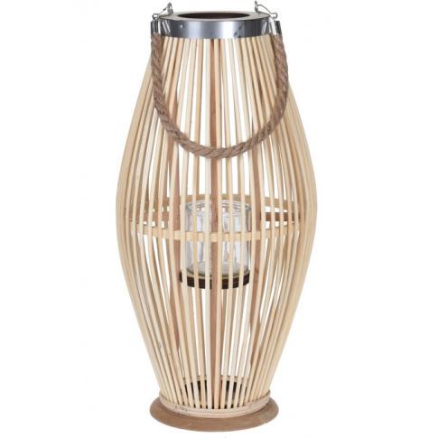 Lampion bambusowy wys. 50 cm  w sklepie Dedekor.pl