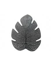 Podkładka na na stół liść czarna w sklepie Dedekor.pl