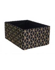 Pudełko do przechowywania czarno-złote