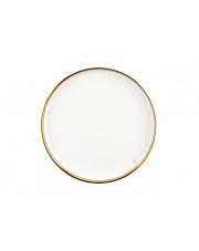 Talerz obiadowy porcelana Berloti biały
