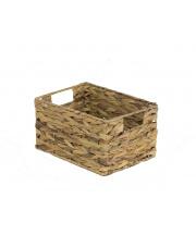 Koszyk dekoracyjny z hiacytnu wodnego