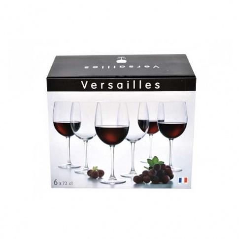 Kieliszki do wina duże Versailles 6szt. 720 ml G1647 w sklepie Dedekor.pl