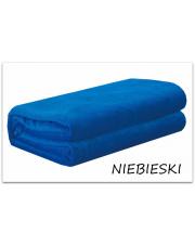 Niebieski koc z mikrofibry 200x220 cm w sklepie Dedekor.pl