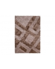 Dywan Shaggy Polyester brown 160/220cm
