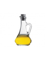 Szklana karafka na oliwę lub ocet