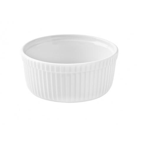 Porcelanowe naczynie do zapiekania biała w sklepie Dedekor.pl