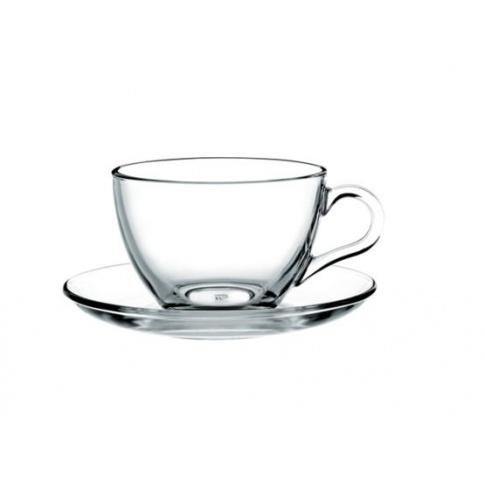 Filiżanki szklane do kawy i herbaty Basic w sklepie Dedekor.pl