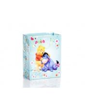 Błyszcząca torebka na prezent Disney 26,4x32,4x13,7
