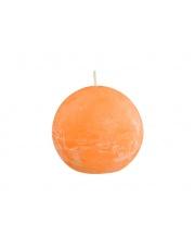 Świeca zapachowa Rustic pomarańcza 8x8 kula w sklepie Dedekor.pl
