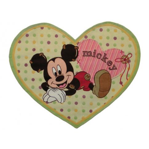 Dywan w kształcie serca Baby 100x120 akrylowy w sklepie Dedekor.pl