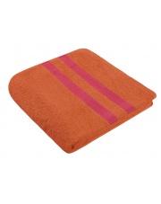 Pomarańczowy ręcznik bawełniany 50x90 w sklepie Dedekor.pl