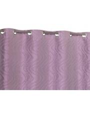 Dekoracyjna zasłona Luxy 140x240 jasny fiolet