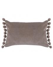 Bawełniana poduszka ozdobna Pompon 50x30 w sklepie Dedekor.pl