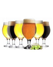 Szklany pokal do piwa 0,5l