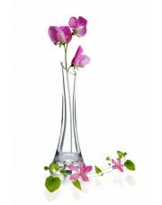 Ozdobny wazon z łezką ze szkła wys.20 cm w sklepie Dedekor.pl