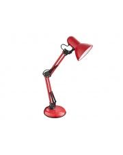 Regulowana lampka biurkowa Tim wys.53 czerwona w sklepie Dedekor.pl