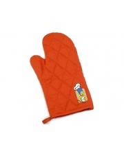 Pomarańczowa rękawica kuchenna Berghoff Simpsons pikowana w sklepie Dedekor.pl