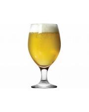 Okrągły pokal do piwa ze szkła 0,36 l gładki w sklepie Dedekor.pl