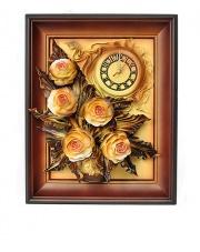 Zegar z różami 3ZE/088