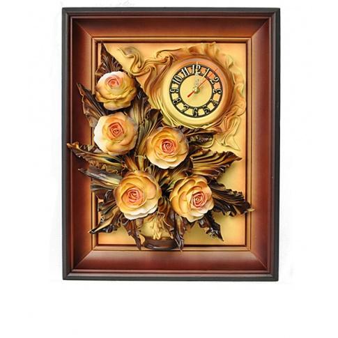 Zegar z różami 3ZE/088 w sklepie Dedekor.pl