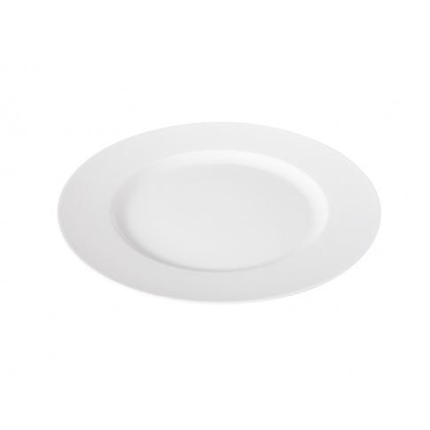 Porcelanowy talerz deserowy Brunch śr.23 biały w sklepie Dedekor.pl