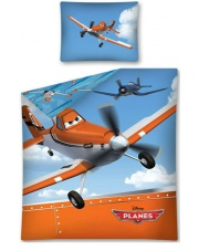Komplet pościeli dla dzieci Planes Dusty 140x200