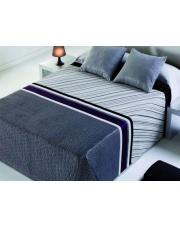 Elegancka narzuta hiszpańska Omega 7 Gris 220x240 + 2x poszewka na poduszkę w sklepie Dedekor.pl