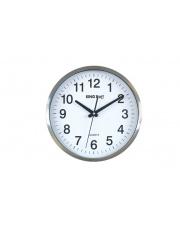 Biały zegar na ścianę śr. 30 cm w sklepie Dedekor.pl