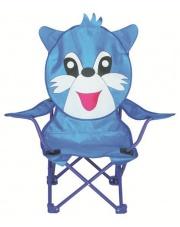 Dziecięce krzesełko campingowe NIEBIESKI KRÓLIK