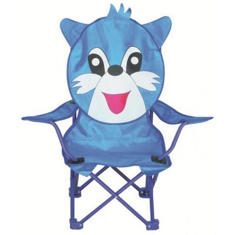 Dziecięce krzesełko campingowe NIEBIESKI KRÓLIK w sklepie Dedekor.pl