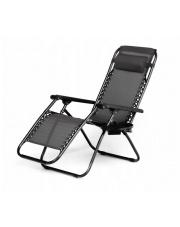 Luksusowy fotel RELAX czarny