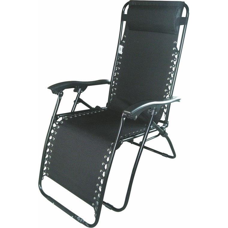 Wygodny fotel RELAX czarny , Meble, Meble ogrodowe, Meble, Leżaki ogrodowe, Meble ogrodowe ...