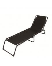 Luksusowy leżak RELAX czarny
