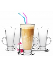 Komplet szklanek do latte 6szt. A68-0035 w sklepie Dedekor.pl