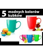 Kolorowe kubki BRUNO 300 ml  w sklepie Dedekor.pl