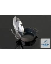 Patelnia Virgo 28cm 4,3L Dark szklana pokrywa Berghoff  w sklepie Dedekor.pl