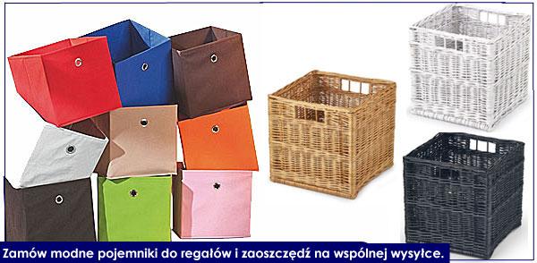 pojemniki i szuflady