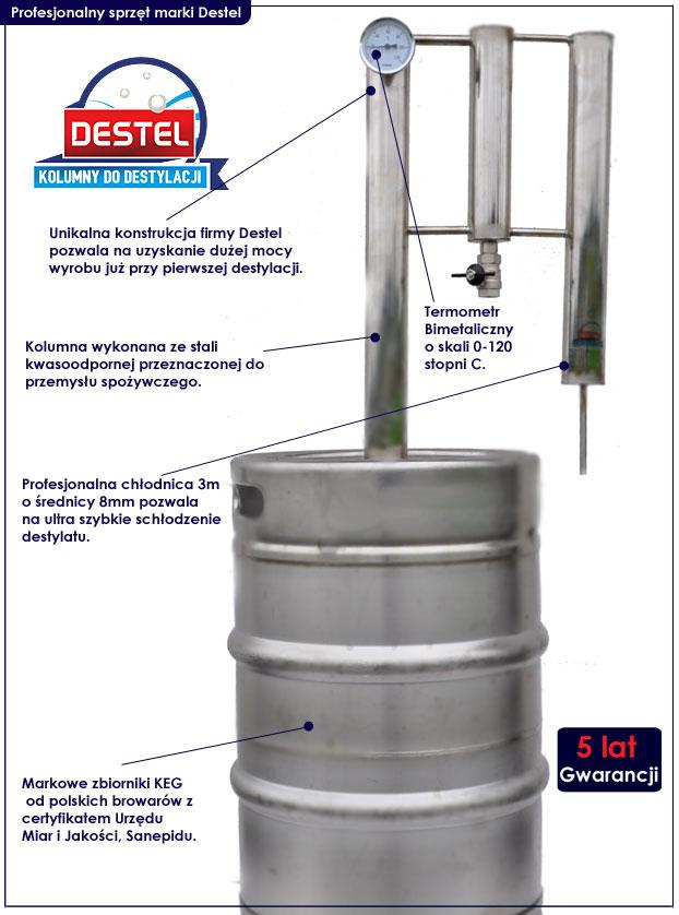 destylator Destel
