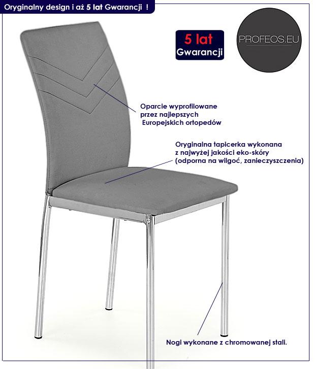 krzesło do salonu fiter
