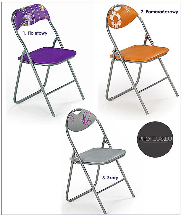 kolory krzesełka