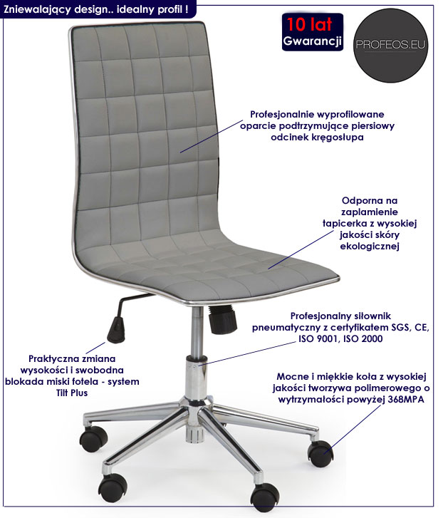 Fotel obrotowy Polin