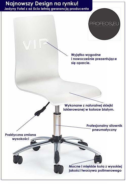 fotel młodzieżowy Viper