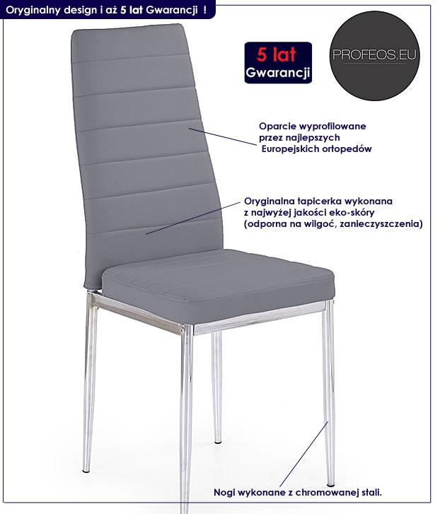 krzesło do domu metalowe