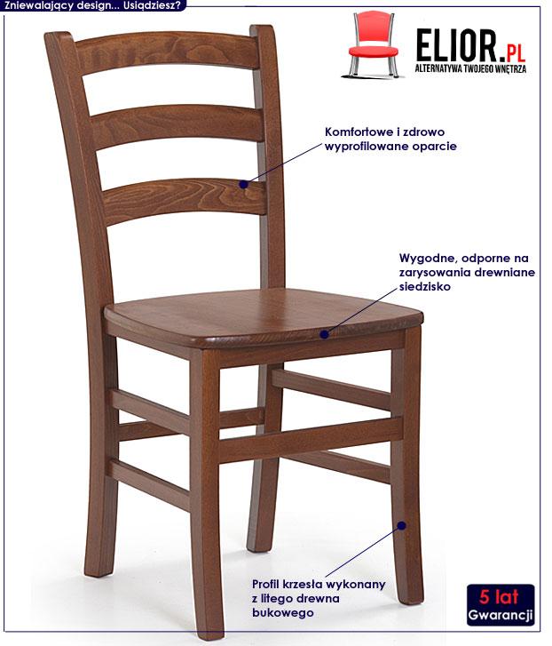 krzesło drewniane Foren