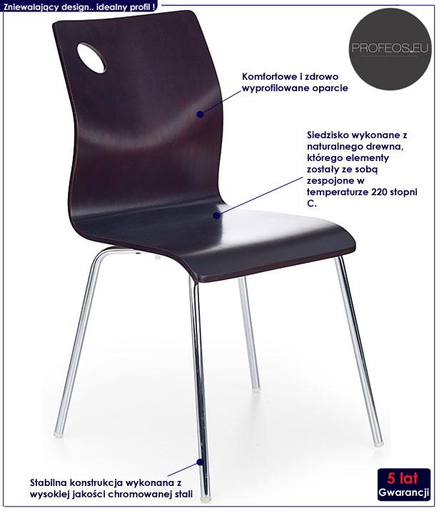 krzesło kuchenne Goran